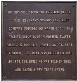 Plaque image via U.S. Department of the Treasury.